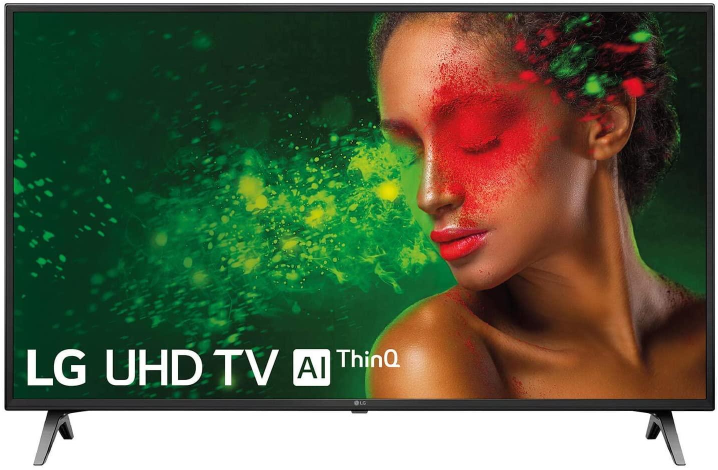 "LG 49UM7100ALEXA - Smart TV 4K UHD de 124 cm (49"") Works With Alexa (procesador Quad Core, HDR y Sonido Ultra Surround) color negro [Clase de eficiencia energética A]"
