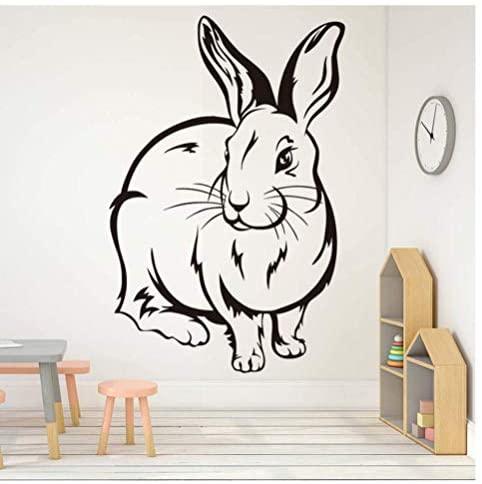 Lindo Conejo Pegatina De Pared Para Habitación De Niños Decoración De Habitación De Bebé Vinilo Extraíble 29Cm X 44Cmwwwld
