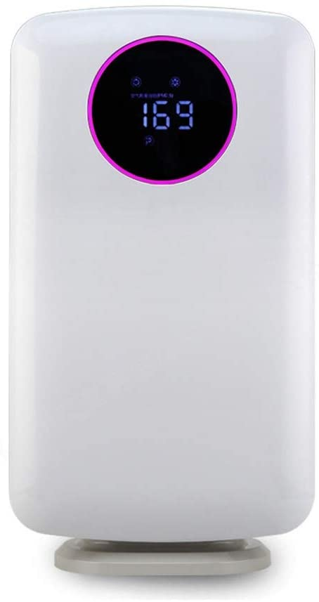 LXL Purificador de Aire, Dormitorio Principal purificador de Aire purificador se Puede programar purificador de Aire con Control Remoto Control Negativo Ion Filtro purificador Purificador de Aire