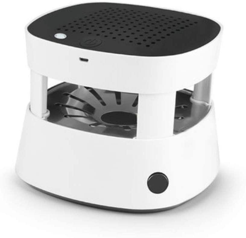 LZC Purificador de Aire, cenicero portátil sin Humo Recargable USB, Filtro eficiente Mudo, para el Traje automóvil, Hotel, Restaurante, Fiesta, Buffet, etc.