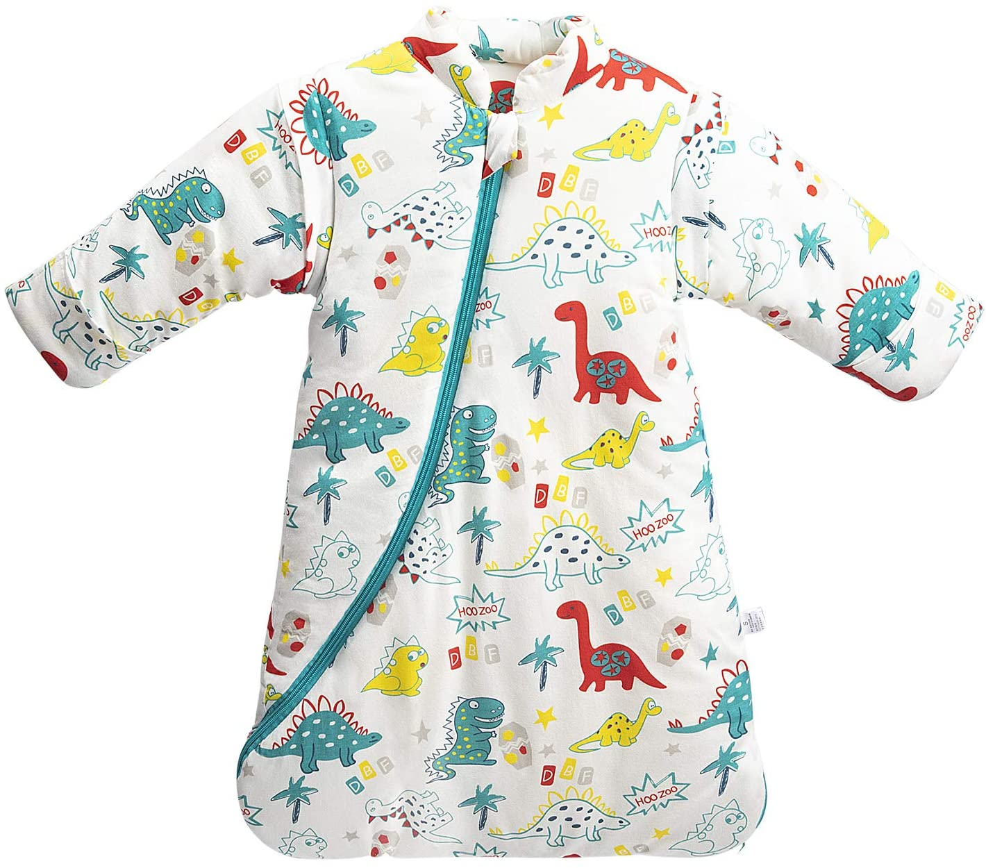 MIKAFEN Sleeping Bag _Dinosaur M/6-18Monate green_dinosaur
