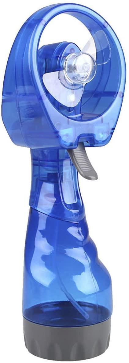 Mini ventilador de nebulización de mano Ventilador de pulverización, refrigeración manual de batería Spray de agua fría Ventilador de nebulización de nebulización portátil para oficina en el hogar
