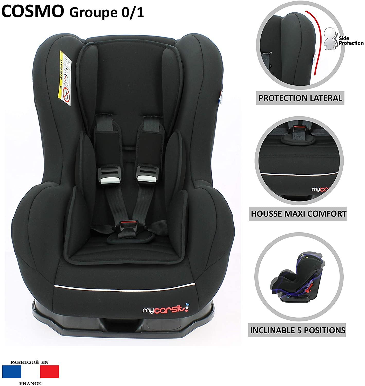 MyCarSit - Silla de coche para niños Nania, de 0 a 18 kg, modelo Cebra