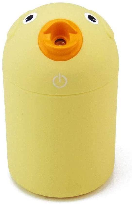 NA Humidificador, Aceites Esenciales humidificadores del aire del difusor del purificador, Mini USB de aves de dibujos animados Difusor aceites de la fragancia del filtro principal de aire del coche d