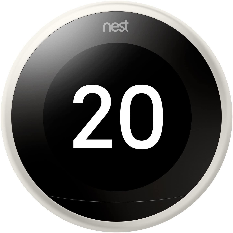 Nest Learning 3 A Generación - Termostato Inteligente, color Blanco