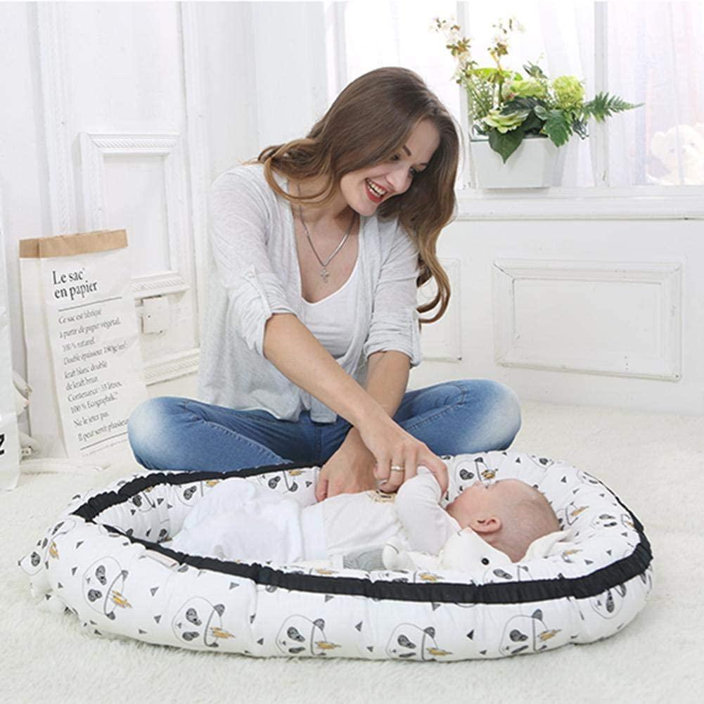 Nido De Bebé Multifuncional, Almohadillas De Abrazo De Cuna Portátiles Y Cálidas Tumbona Para Bebés Recién Nacidos Y Bebés, Paquete De Vainas Para Acurrucarse Envoltura De Cuna Envoltura De Cuna