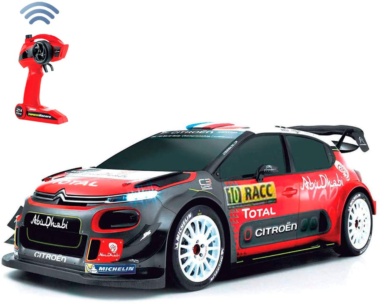 Ninco- Citroen C3 WRC Coche Radiocontrol, Multicolor (NH93150)