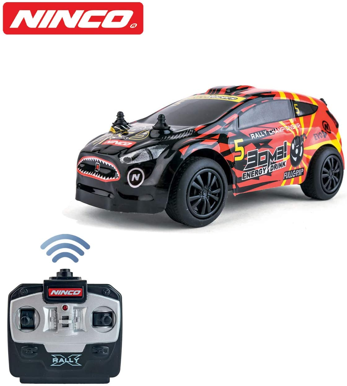 Ninco- Nincoracers X Rally Bomb Coche, Color variado (NH93142)