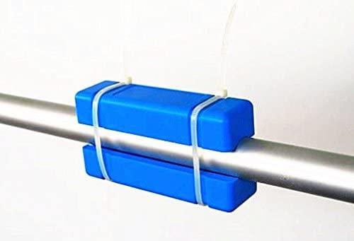 Nuevo largo azul magnético acondicionador de agua descalcificador la cal Remover UK