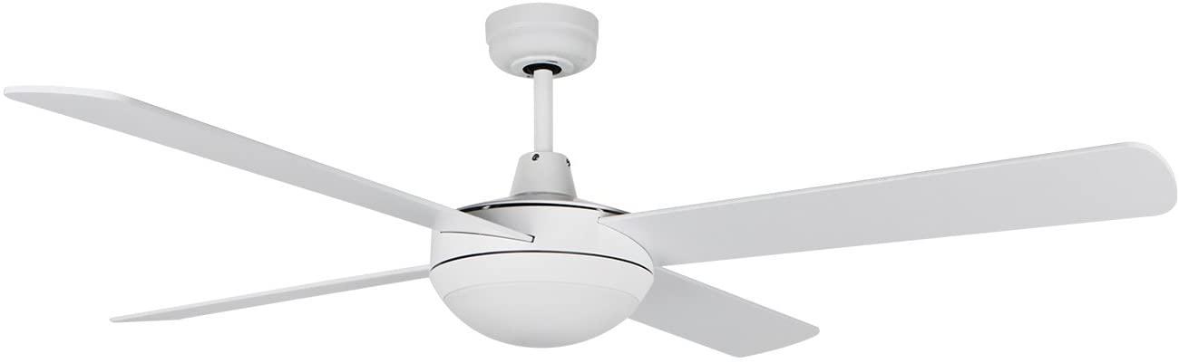 Orbegozo CP 87132 Ventilador de techo con mando a distancia y luz, 4 palas, 132 cm de diámetro, potencia de 60 W y 3 velocidades