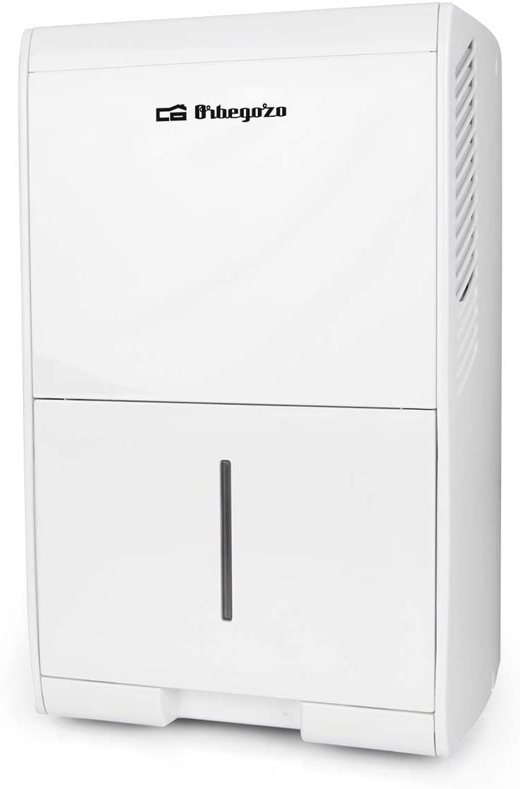 Orbegozo DH 1038 Deshumidificador, 205 W, 10 litros, Blanco [Clase de eficiencia energética A]