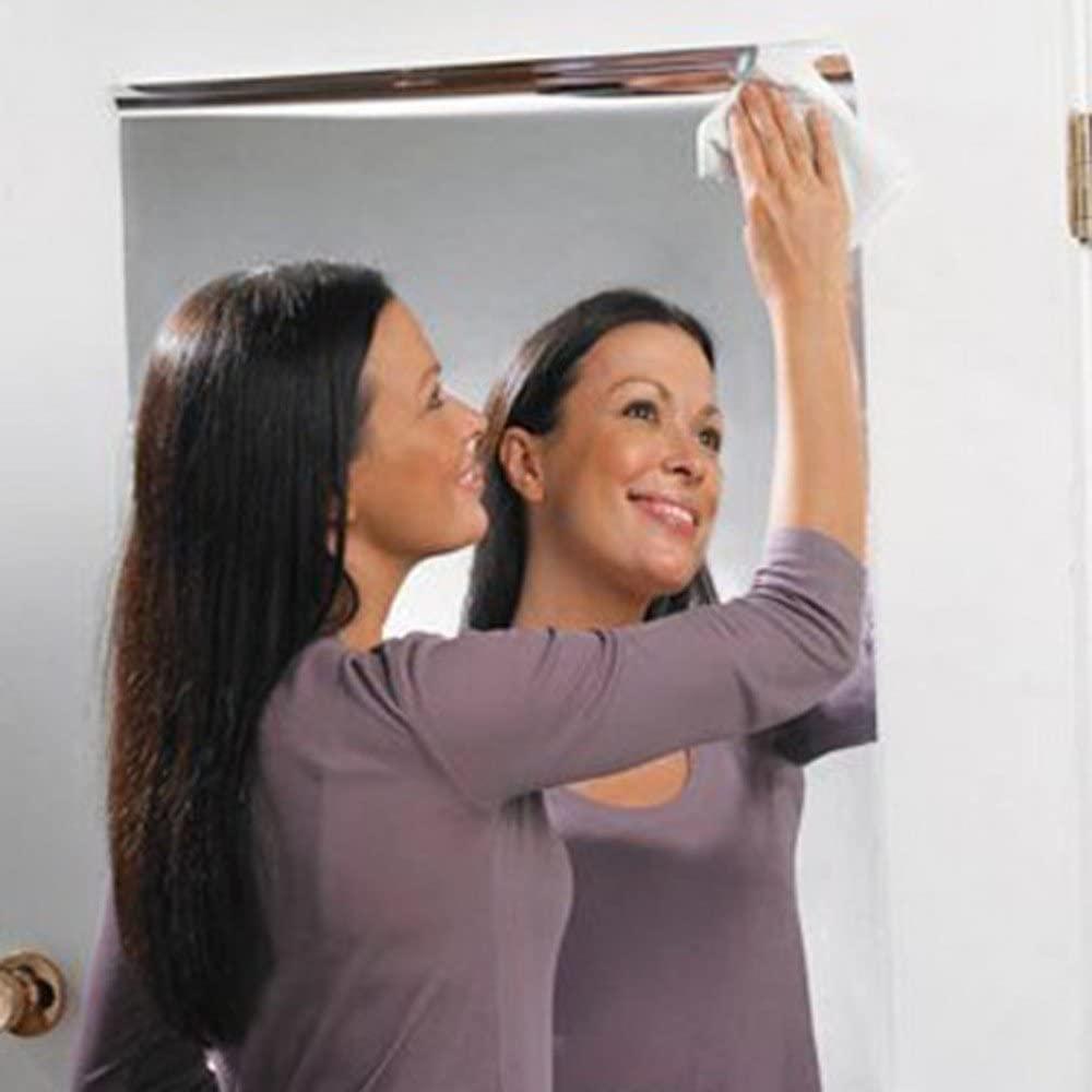 Pegatinas de Pared, Dragon868 9 Unids Cuadrados de Azulejo Espejo Pegatinas de Pared 14.8 Cm X 14.8 Cm 3D Decal Mosaico Home Room DIY Decoración Para Sala de Estar, Dormitorio, Baño