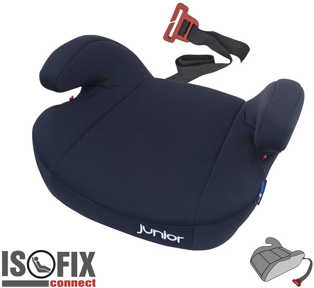 Petex 44430904 Maja - Alzador de asiento infantil, color negro
