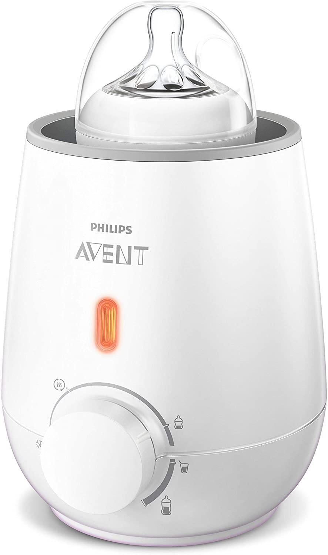Philips Avent SCF355/00 - Calienta biberón rápido, función de descongelación, calentamiento uniforme del líquido [Enchufe español]