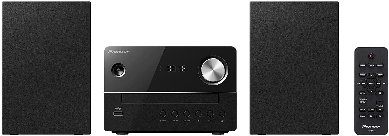 Pioneer X-EM16-B - Sistema Micro (con Radio FM, microcadena con CD y USB Frontal)