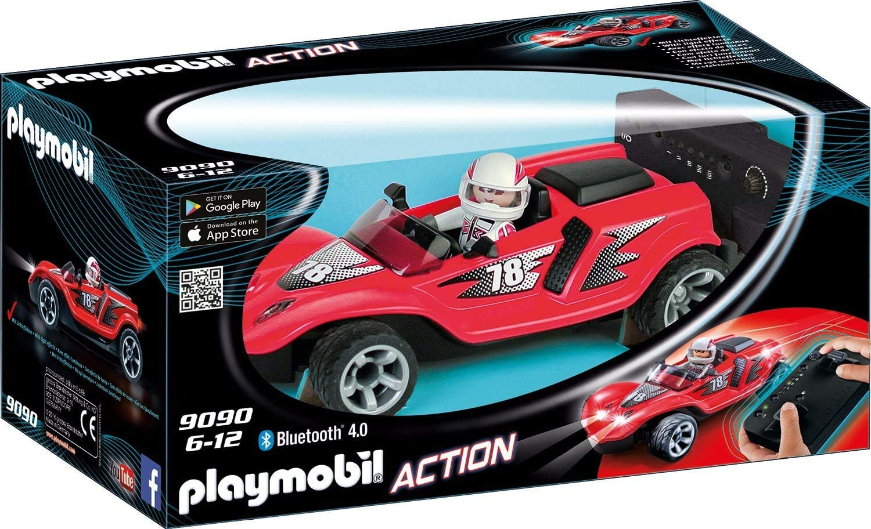 PLAYMOBIL Action Racer Cohete RC con Mando Bluetooth, A partir de 6 Años (9090)