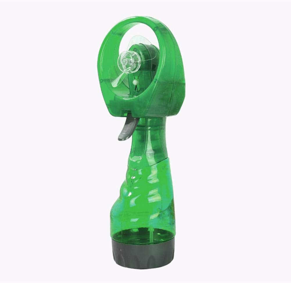 popchilli Ventilador De Nebulización De Mano Ventilador Pulverización Agua Ventilador Pulverización Refrigeración Mano Mini Batería Ventilador Pequeño Escritorio USB Ventilador para Oficina, Present