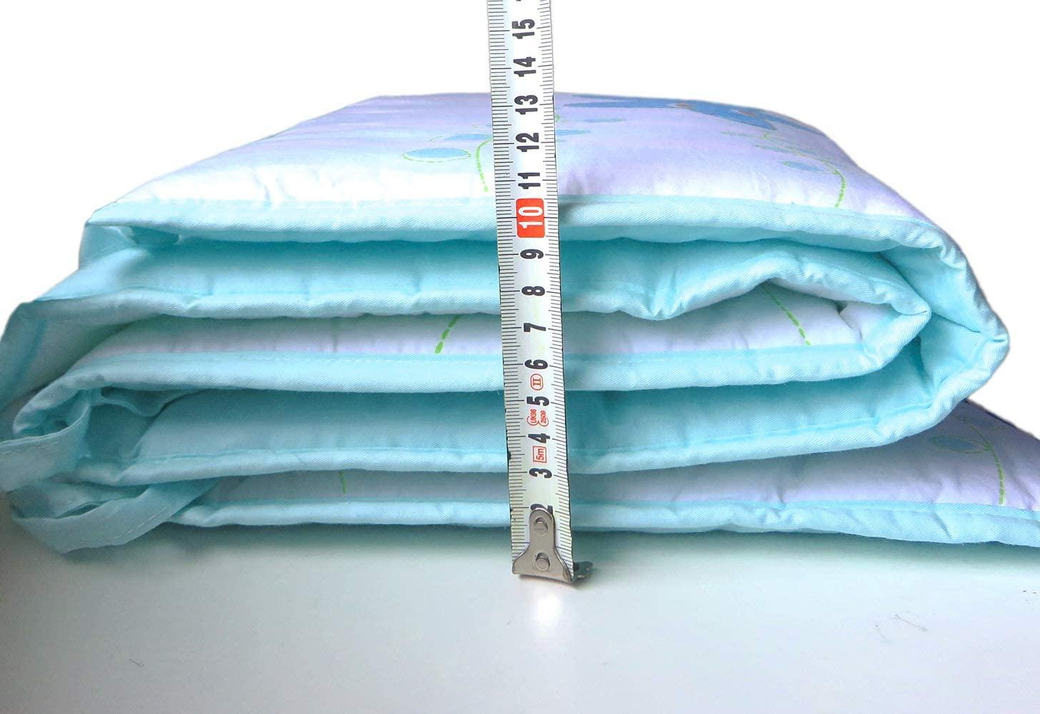 Protector cabeza cuna - Chichonera Bebé 100% algodón 30 x 180 cm (Océano)
