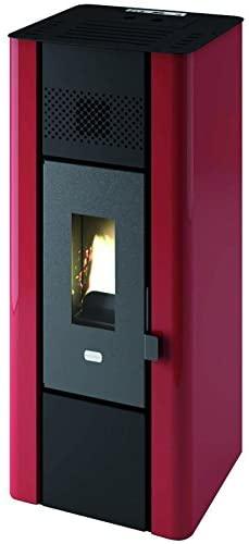 Punto Fuego 9801650estufas pellets Minni, 6300W, Negro