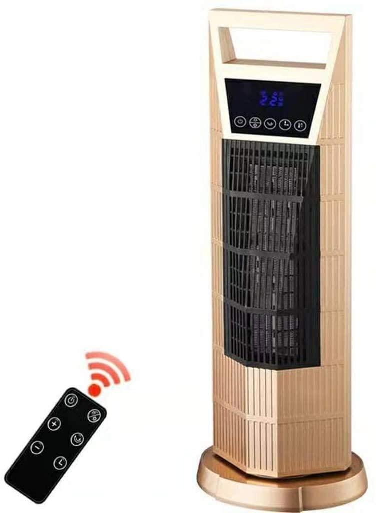 Purificador de aire Familia Ventilador de la torre, del espacio principal calentador de cerámica a distancia Control en Planta Permanente oscilante refrigeración de pantalla LED de calefacción con tem