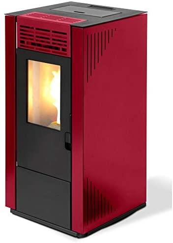 Qlima estufa de pellets 7.4kW 170mc Calefacción casa Burdeos eurostove 65debidas