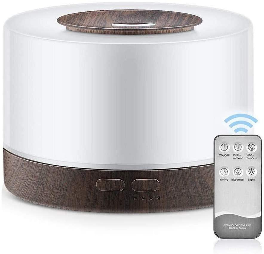 QZXXJ Purificador de Aire con 700 ml de Vapor frío y 7 Luces cambiantes del Color, sin Agua de Apagado automático purificadores de Aire for el bebé Dormitorio Principal