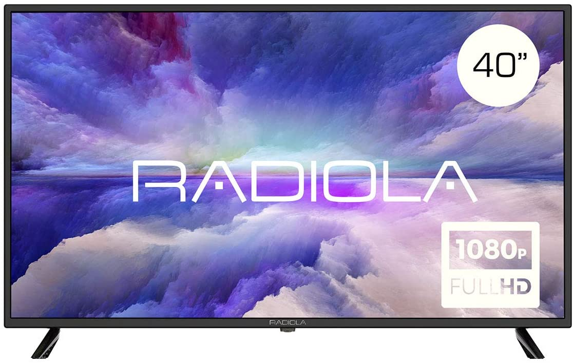 """Radiola LD42100K - Televisor Led 40"""" Full HD (1920 x 1080P, 3X HDMI, VGA, 2X USB, PVR/Timeshift) Color Negro [Clase de eficiencia energética A]"""