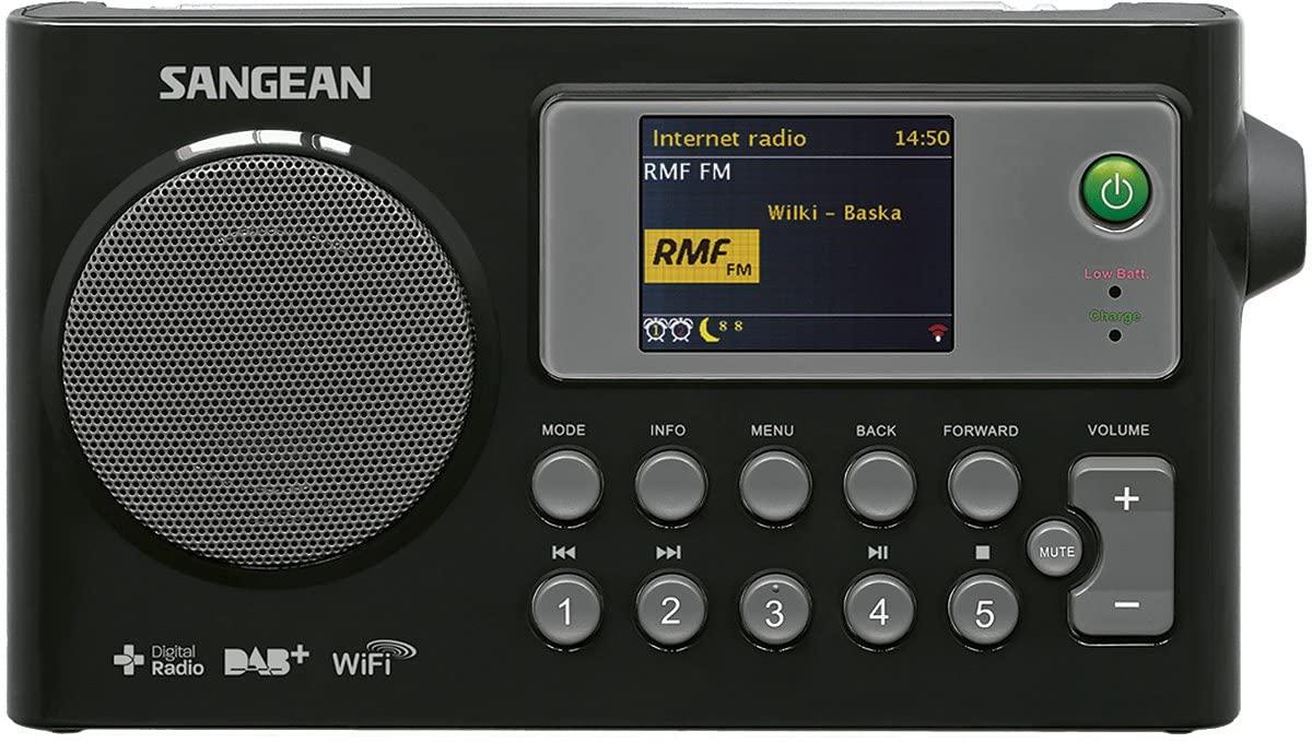 Sangean WFR-27C - Radio (Internet, Digital, Dab+, FM, 2 W, LCD) Color Negro