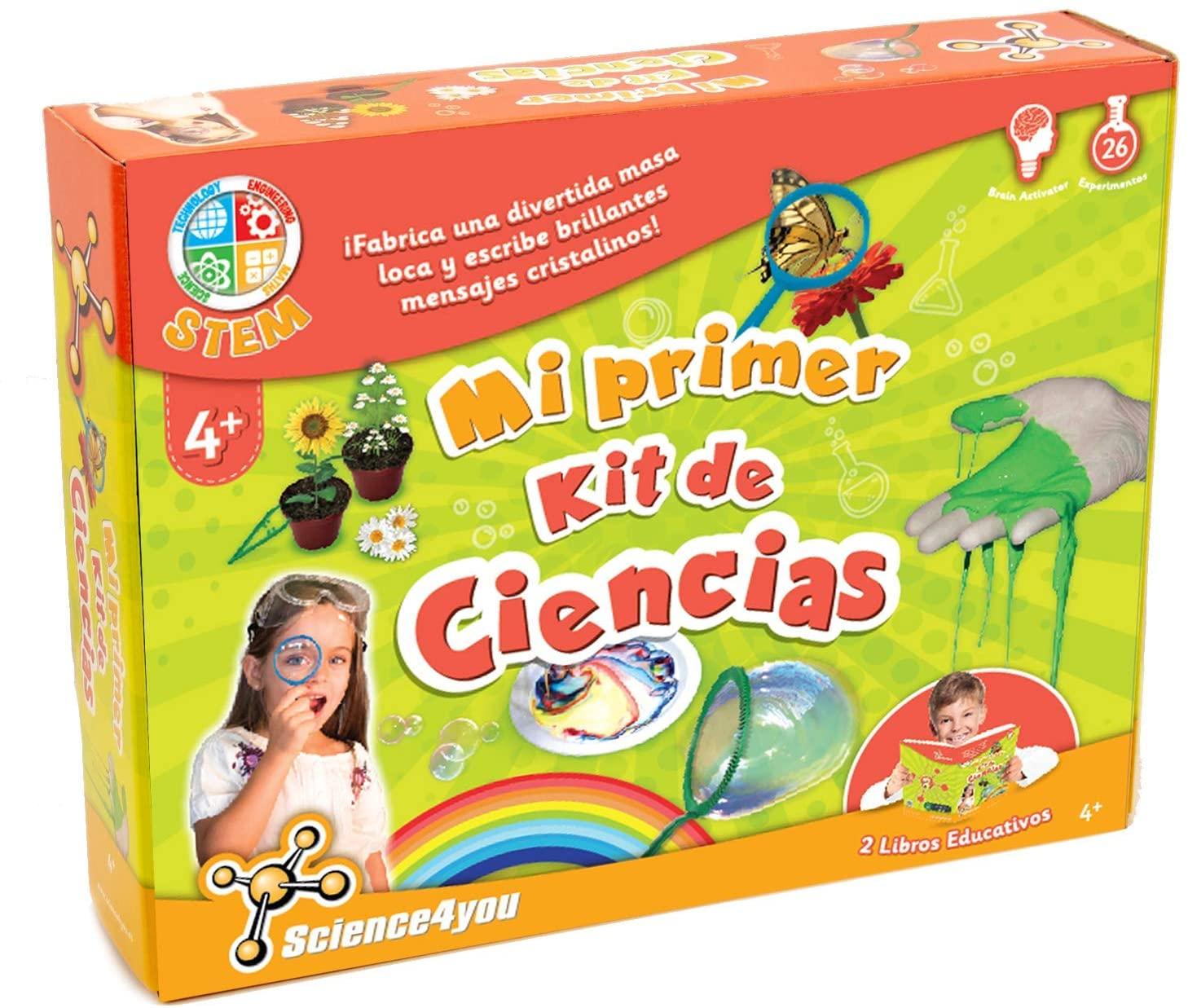 Science4You-Mi Primer Kit de Ciencias-Juguete Cientifico para Niños +4 Años KDE, Color multocolor, única (600270)