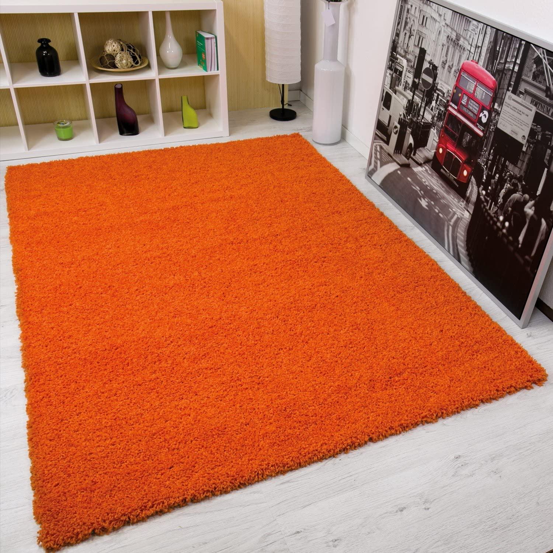 Serdim Rugs Alfombras, Yute, Naranja, 80 x 150 cm