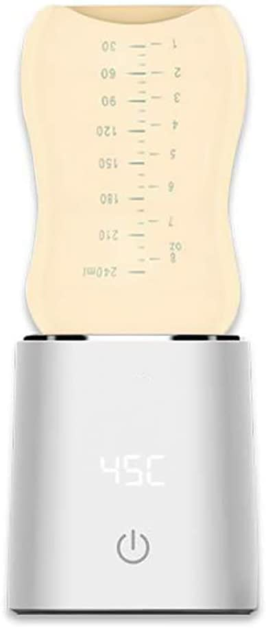 Shuang Calentador de Leche para bebés Calentador de biberones Calentador de biberones Máquina de Leche Caliente Constante y automática(Plus Bottle)