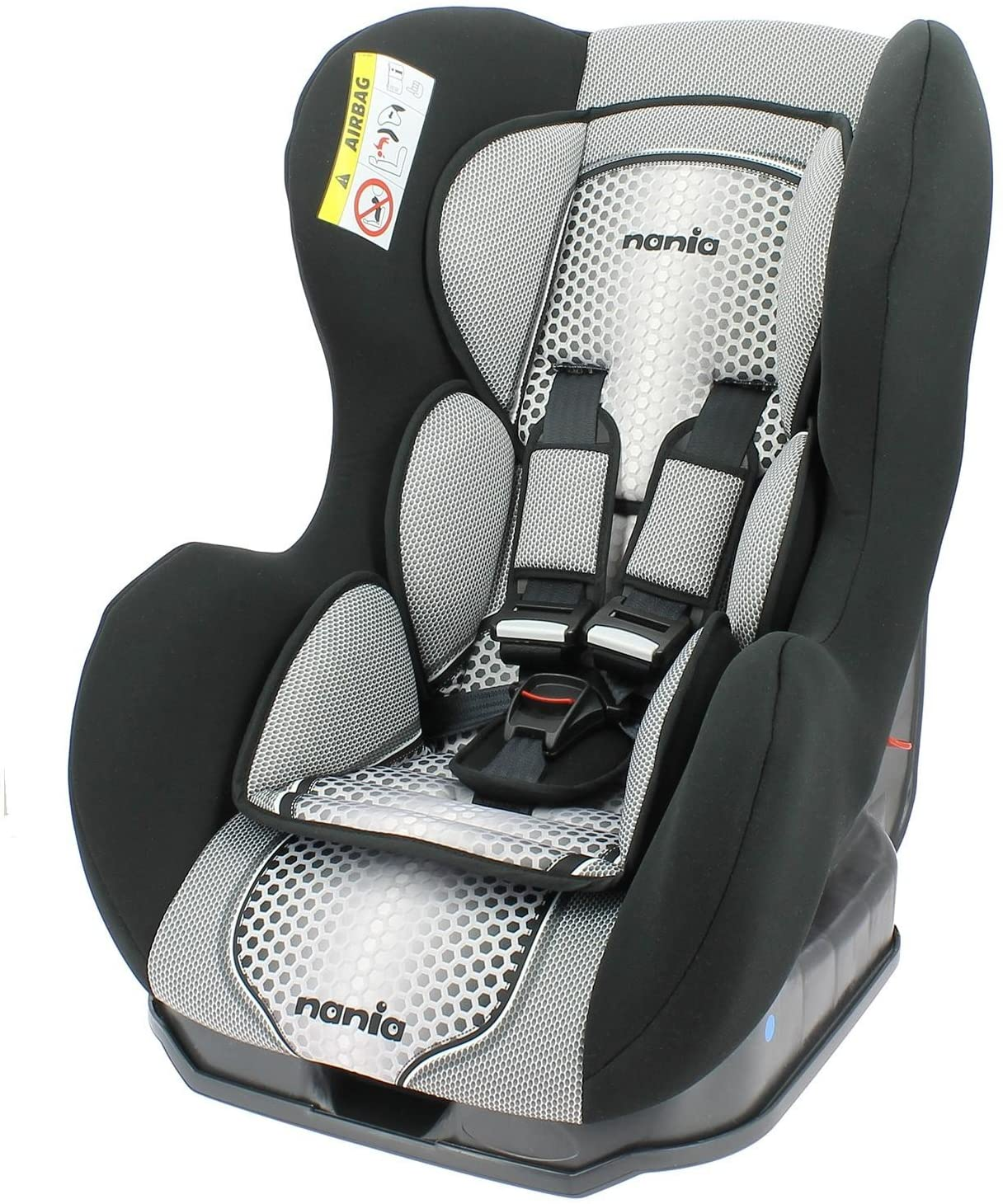 Silla de coche COSMO Group 0/1 (0 a 18 kg), Nania Pop Grey