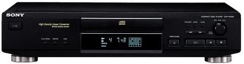Sony CDP-XE220/B - Reproductor de CD, color negro