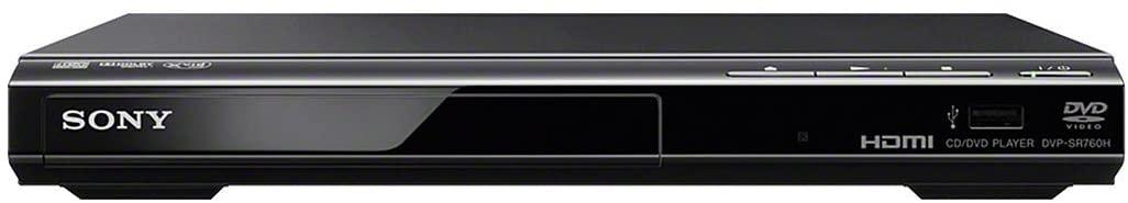 Sony DVP-SR760H - Reproductor de DVD / CD con tecnología de mejora de la imagen (HDMI, USB port , reproducción de Xvid, Dolby Digital) , negro