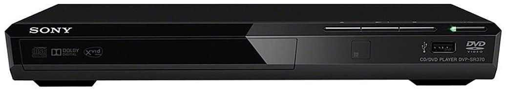 Sony DVPSR370B - Reproductor de DVDs con USB, Negro