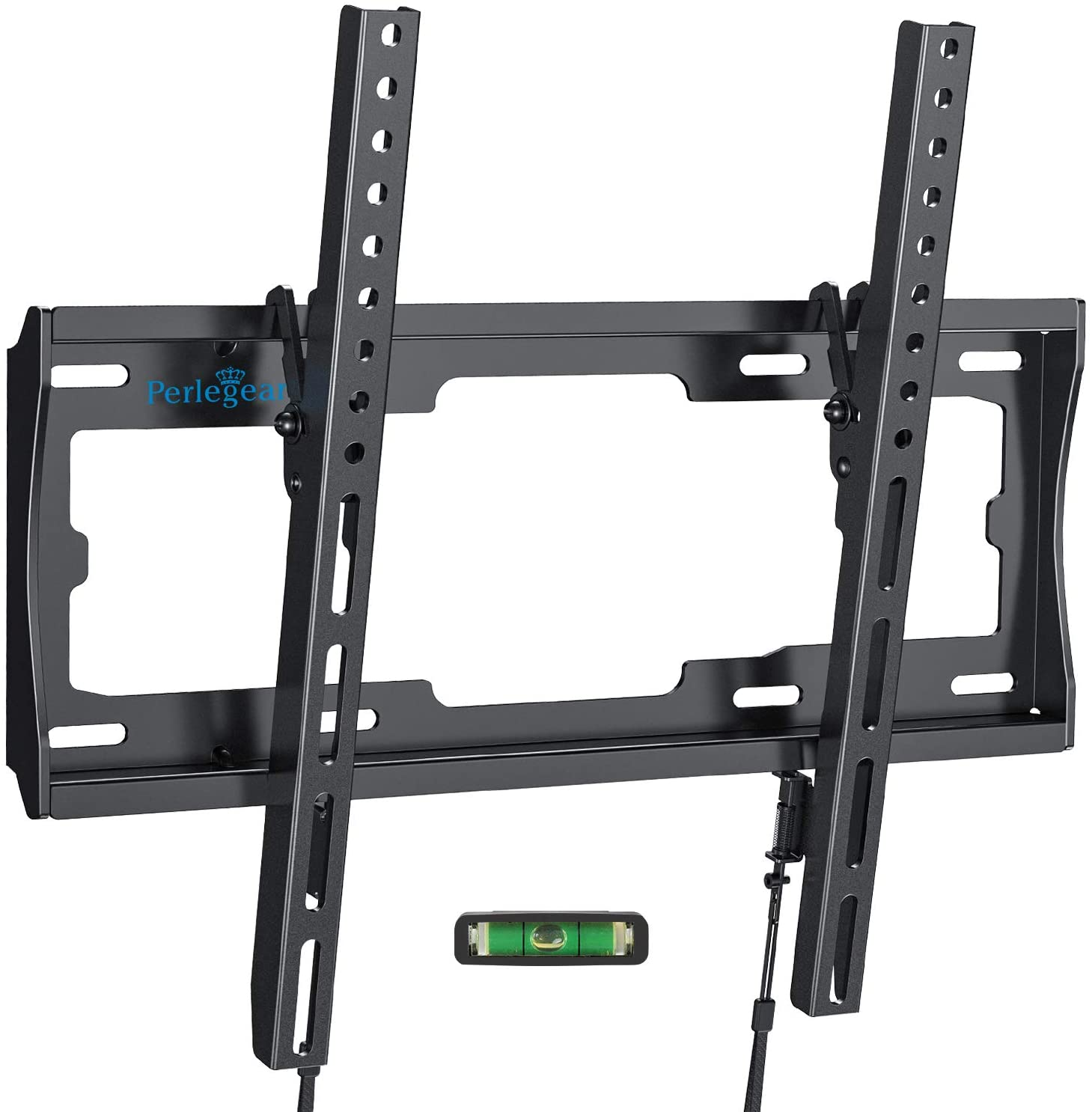 "Soporte de Pared para TV de 26""-55"" LED/LCD/Plasma TV Inclinable - Soportar 45kg, VESA Máx. 400x400mm, Nivel De Burbuja Incluidos para Facilitar La Instalación"