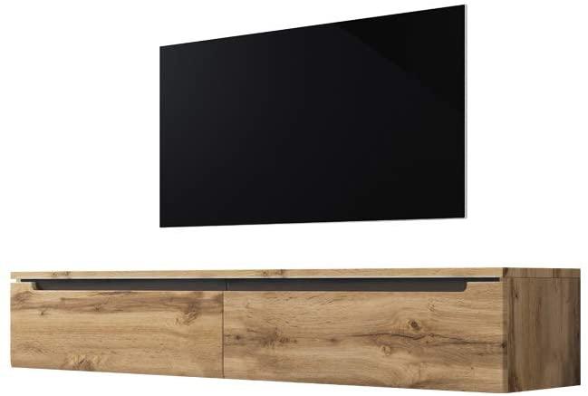 Swift–Armario/TV de Mueble para televisión en imitación a Madera Wotan Roble Mate hängend o pie 140cm