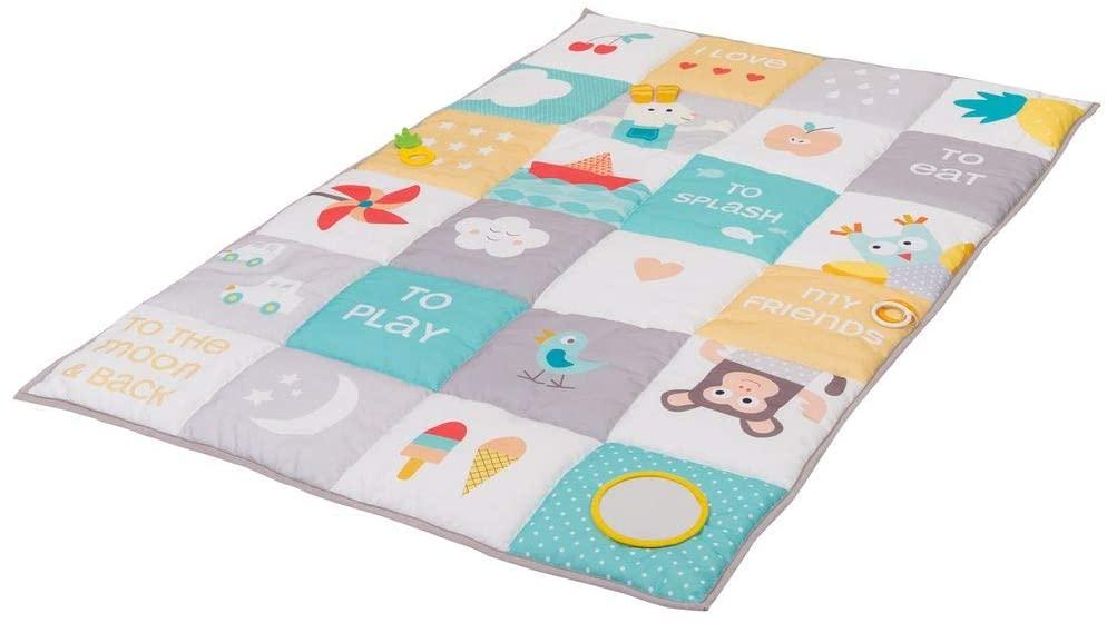 """Taf Toys 12175, Alfombra de Juego """"I love big mat"""", Multicolor, 100 x 150 cm"""