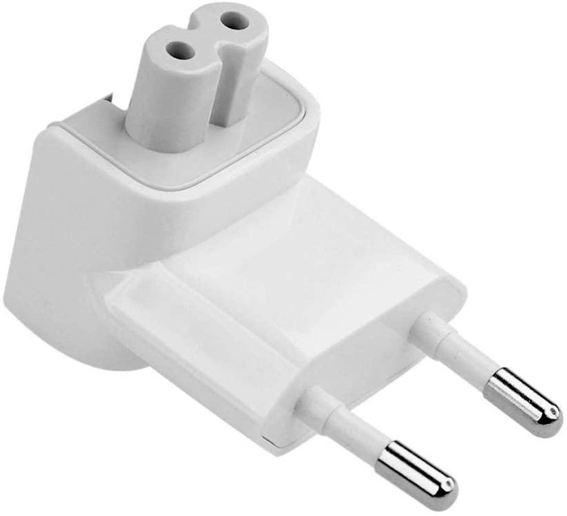TB® Adaptador de alimentación de 2 pines para todos los MacBooks USB-C adaptadores de alimentación, MagSafe y MagSafe 2 adaptadores de alimentación 10 W 12 W reemplazo 2 pines AC adaptador