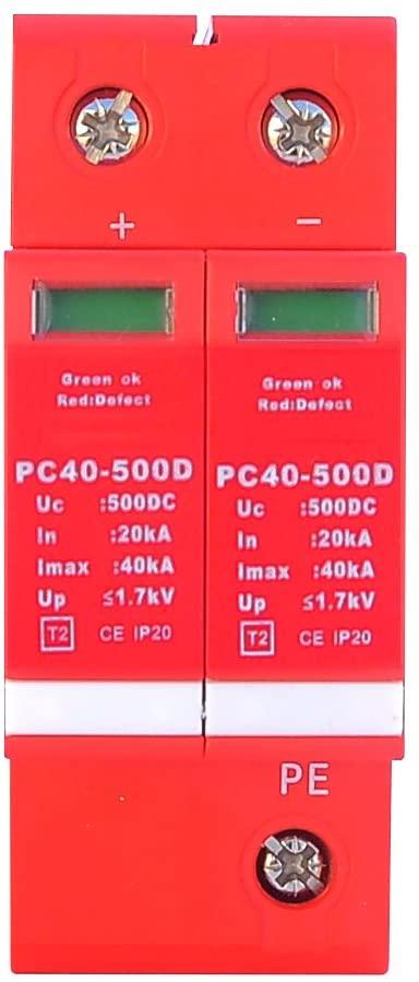 Tecatel - Protector de sobretensión DC hasta 500V