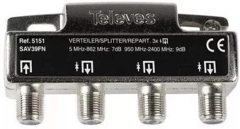 Televes 5151 - Repartidor 3 salidas