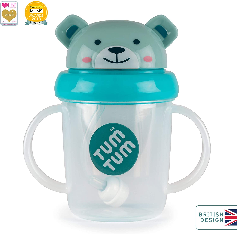 TUM TUM Tippy Up Taza 200ml (Boris Bear)