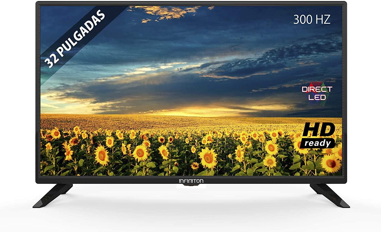 "TV LED INFINITON 32"" INTV-32 HD Ready - Reproductor y Grabador USB, 3X HDMI"