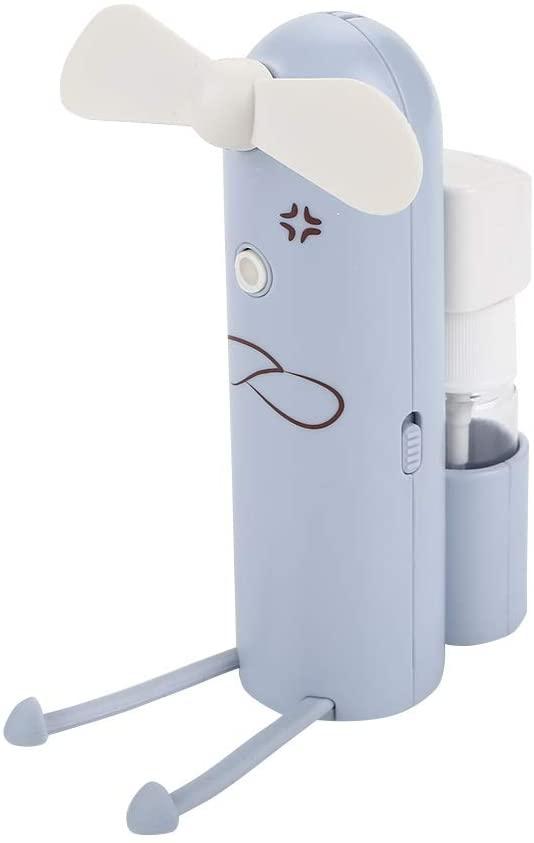 USB风扇 Mifeer 2019 Drop Shpping USB Ventiladores de nebulización, Ventilador en Aerosol, Soporte para teléfono portátil Multifuncional, Ventilador de enfriamiento para Ventilador de Mano