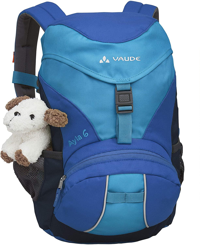 VAUDE Ayla - Pequeña mochila para niños - 6 litros, 29 x 21 x 12 cm, color azul