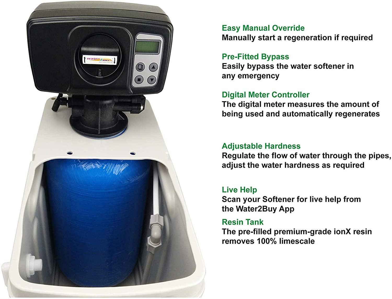 Water2Buy W2B780 descalcificador | descalcificador de agua domestico for 1-10 personas