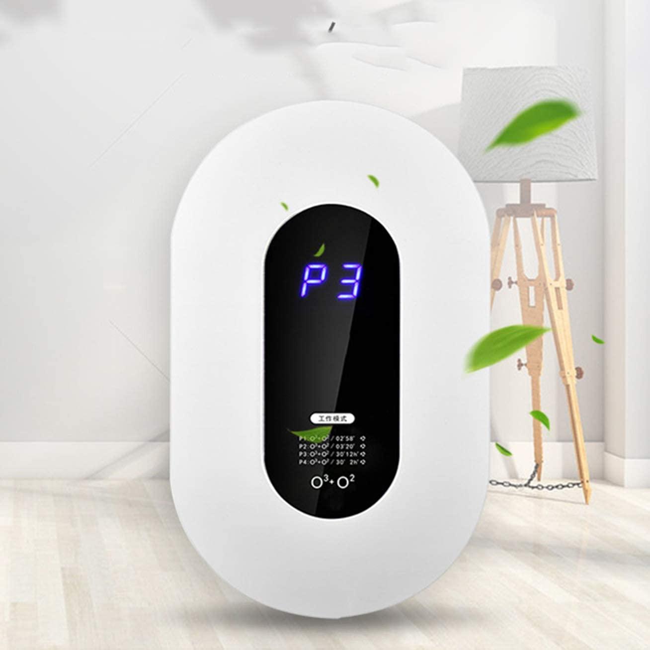 WNZL Mini purificador de Aire, Alivia alergias Elimina el Humo Niebla con Humo de Olor Polen Polvo gérmenes Molde para Dormitorio Principal Dormitorio Cocina Sala de Mascotas