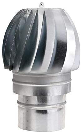 WOLFPACK 22011130 Sombrero Extractor Galvanizado Para Estufa 120mm