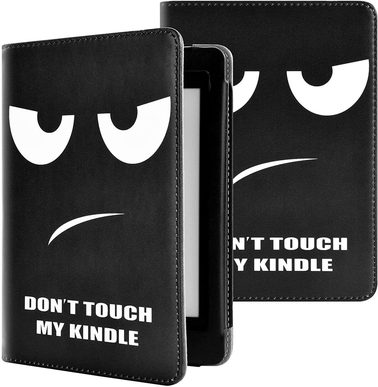 YuanZhu Kindle Paperwhite E-Reader Funda,Estuche Protector de Cuero sintético con función de Espera y Reposo de automóvil para el Lector electrónico Amazon Kindle Paperwhite