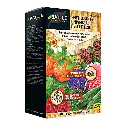 Abonos Ecológicos - Fertilizante Universal Pellet Eco 2,5kg - Batlle